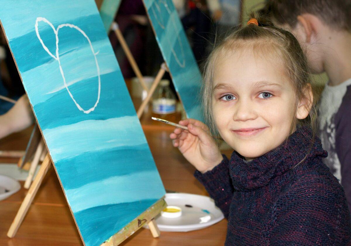 Мастер-класс по масляной живописи для детей (4+) 13 мая